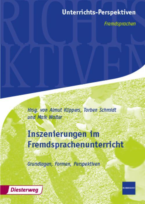 Inszenierungen im Fremdsprachenunterricht cover