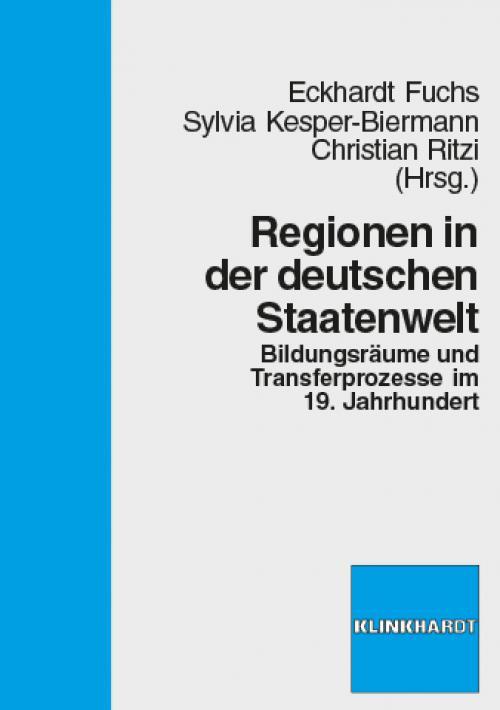 Regionen in der deutschen Staatenwelt cover