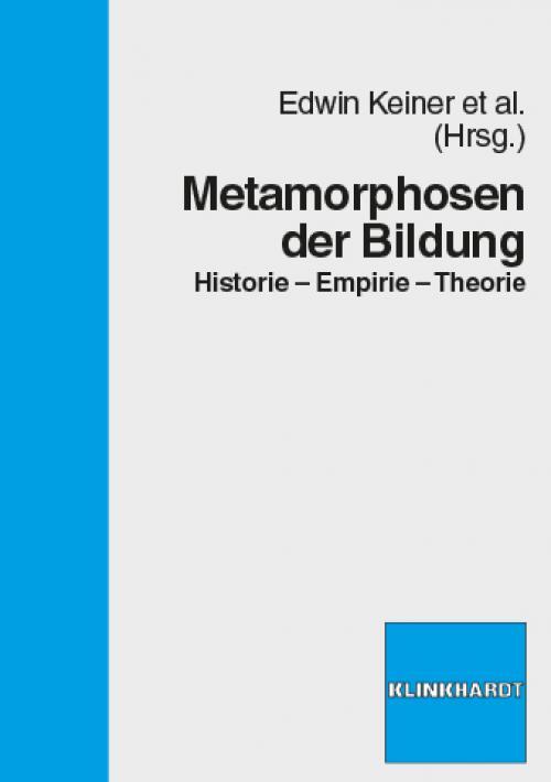Metamorphosen der Bildung cover