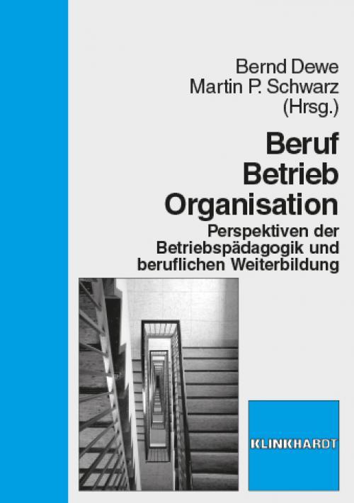 Beruf - Betrieb - Organisation cover