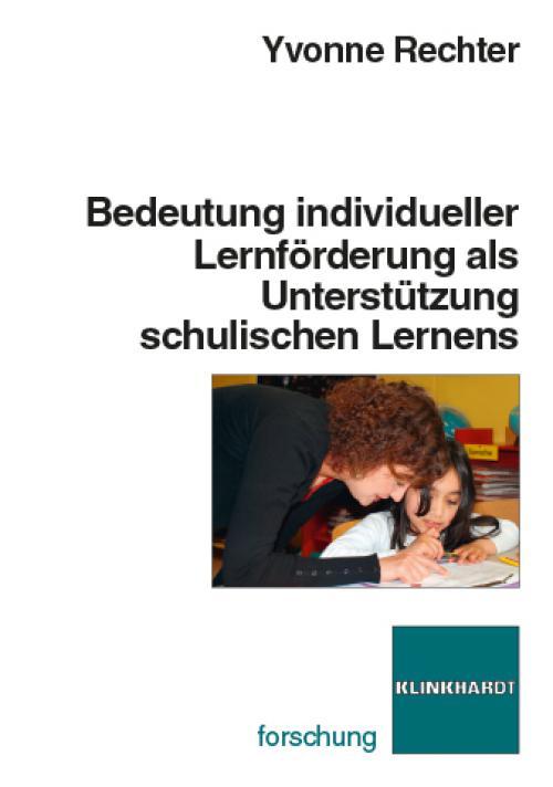 Bedeutung individueller Lernförderuung als Unterstützung schulischen Lernens  cover