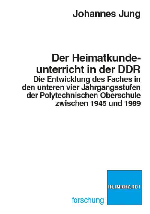 Der Heimatkundeunterricht in der DDR cover