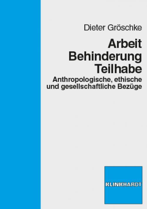 Arbeit - Behinderung - Teilhabe cover