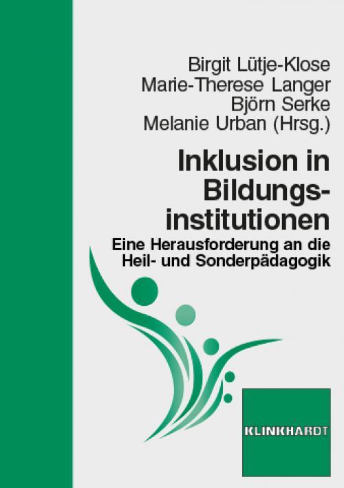 Inklusion in Bildungsinstitutionen cover