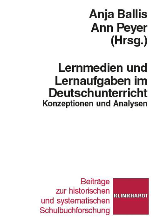 Lernmedien und Lernaufgaben im Deutschunterricht cover