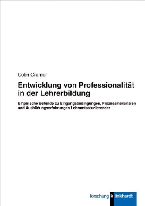 Entwicklung von Professionalität in der Lehrerbildung cover