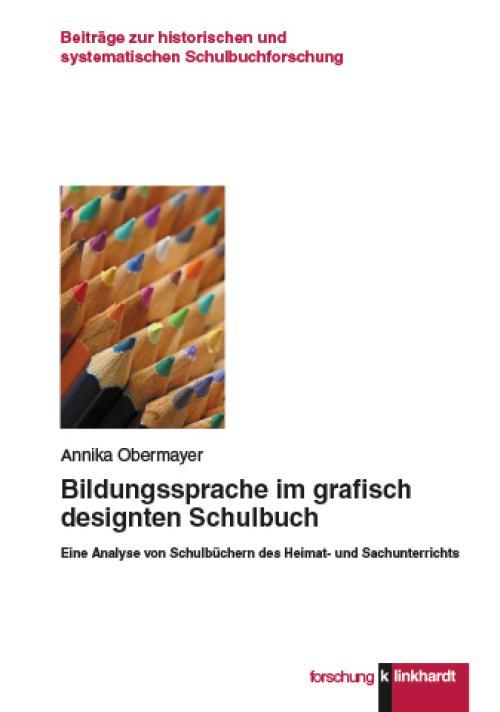 Bildungssprache im graphisch designten Schulbuch cover