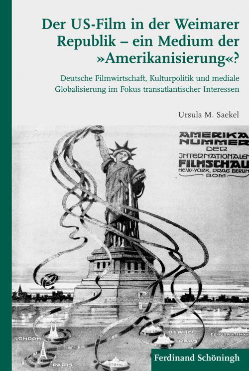 Der US-Film in der Weimarer Republik - ein Medium der