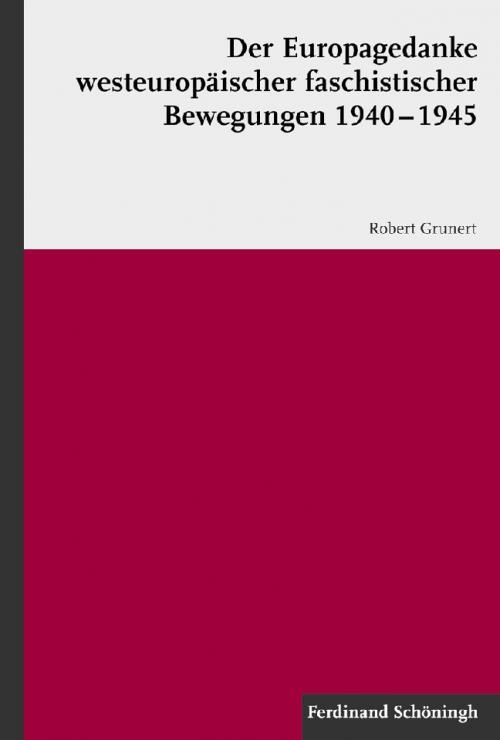 Der Europagedanke westeuropäischer faschistischer Bewegungen 1940-1945 cover
