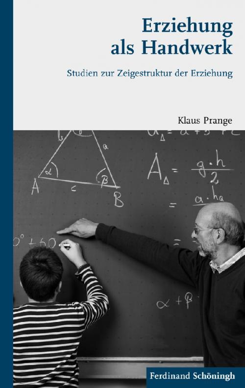 Erziehung als Handwerk cover