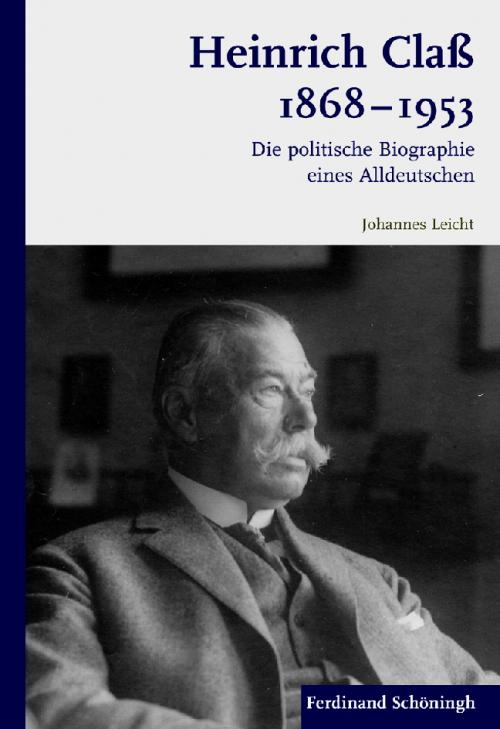 Heinrich Claß 1868-1953 cover
