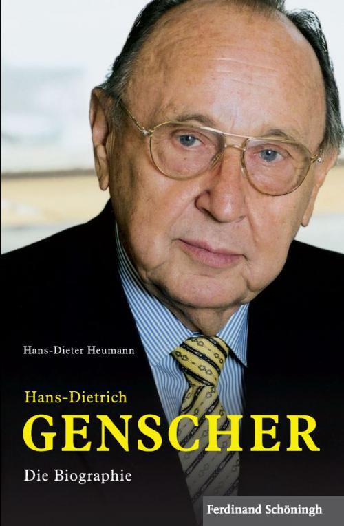 Hans-Dietrich Genscher cover
