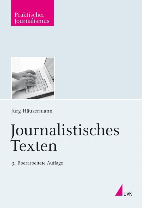 Journalistisches Texten cover