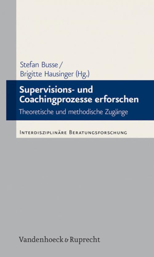 Supervisions- und Coachingprozesse erforschen cover