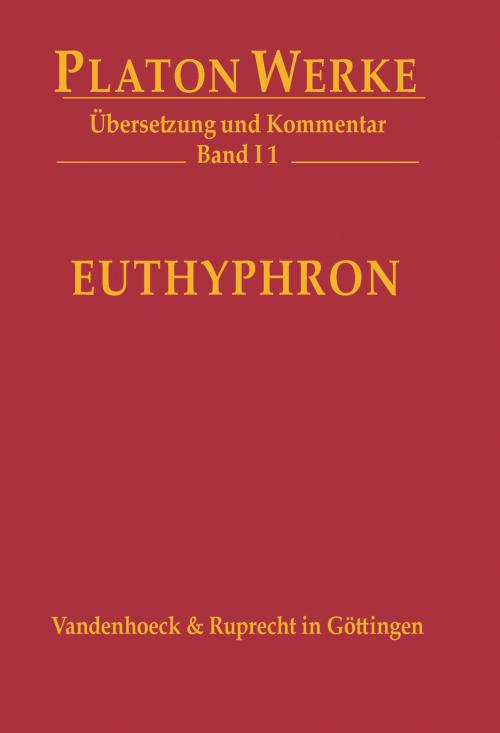 I 1 Euthyphron cover