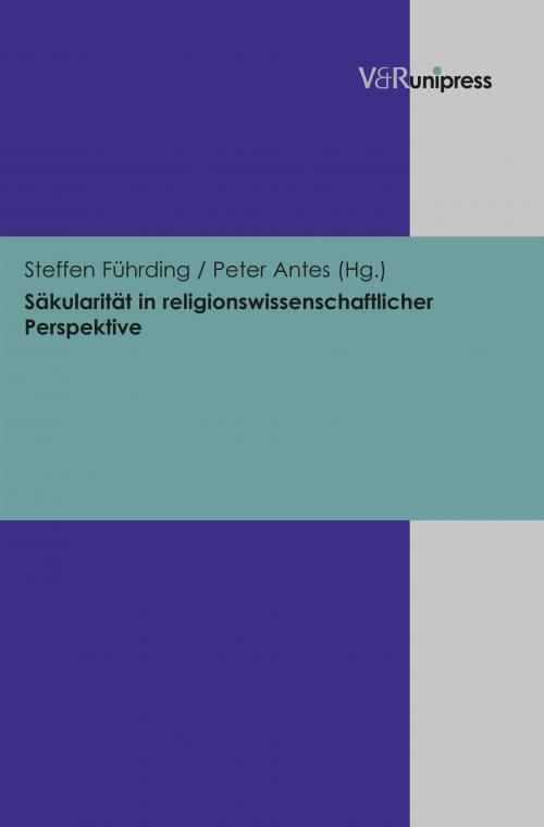 Säkularität in religionswissenschaftlicher Perspektive cover