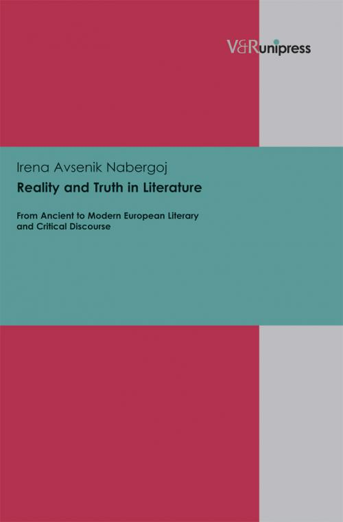 Reality and Truth in Literature cover