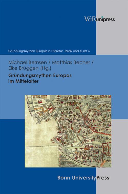 Gründungsmythen Europas im Mittelalter cover