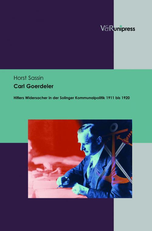 Carl Goerdeler cover