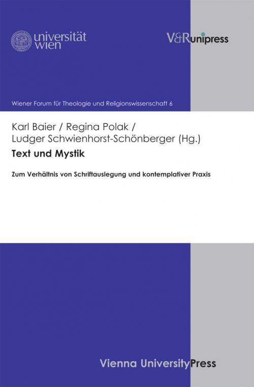 Text und Mystik cover