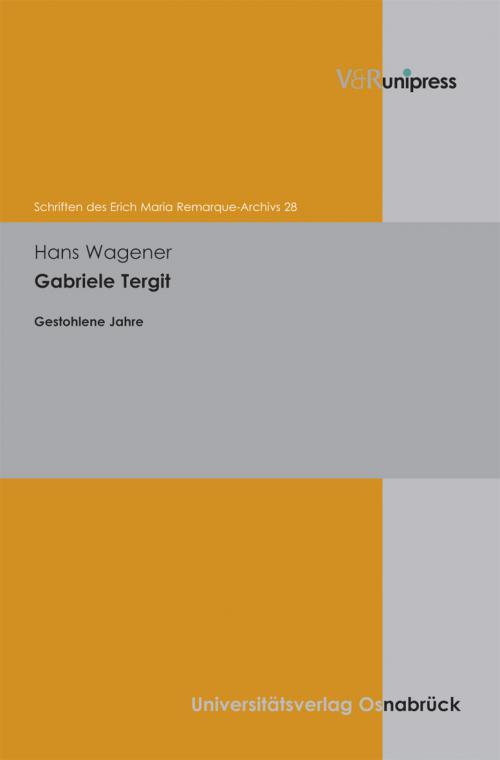 Gabriele Tergit cover