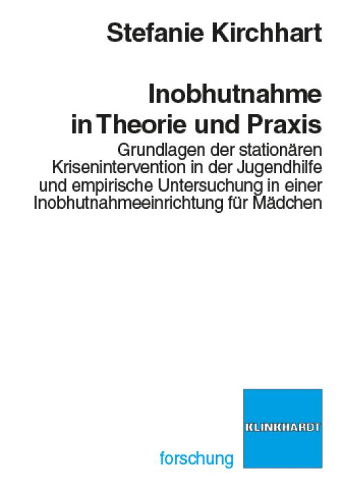 Inobhutnahme in Theorie und Praxis cover