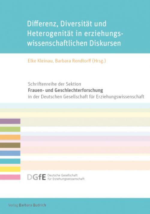 Differenz, Diversität und Heterogenität in erziehungswissenschaftlichen Diskursen cover