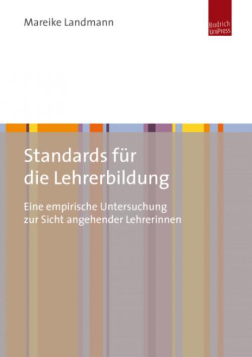 Standards für die Lehrerbildung cover