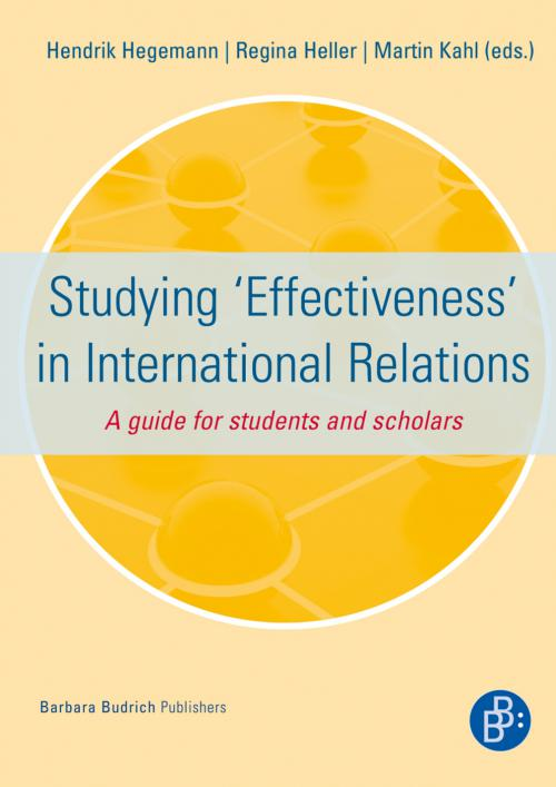 Studying 'Effectiveness' in International Relations cover