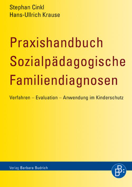 Praxishandbuch Sozialpädagogische Familiendiagnosen cover