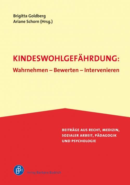 Kindeswohlgefährdung: Wahrnehmen – Bewerten – Intervenieren cover