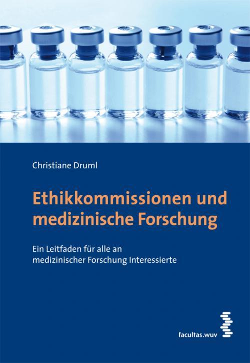 Ethikkommissionen und medizinische Forschung cover