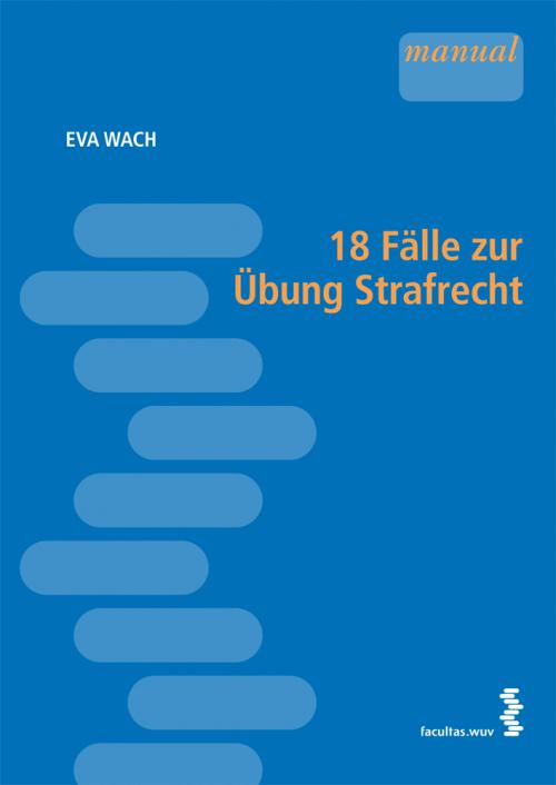 18 Fälle zur Übung Strafrecht cover