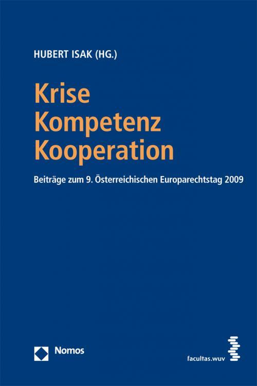 Krise - Kompetenz - Kooperation cover