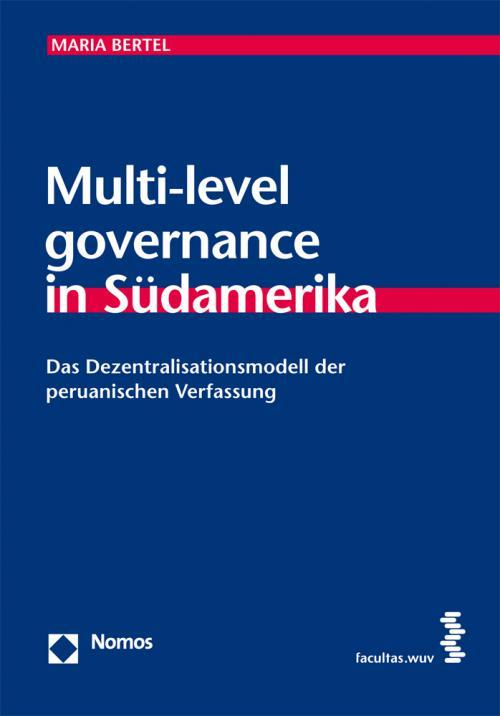 Multi-level governance in Südamerika cover