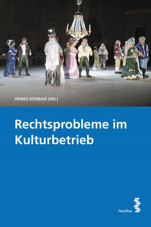 Rechtsprobleme im Kulturbetrieb cover