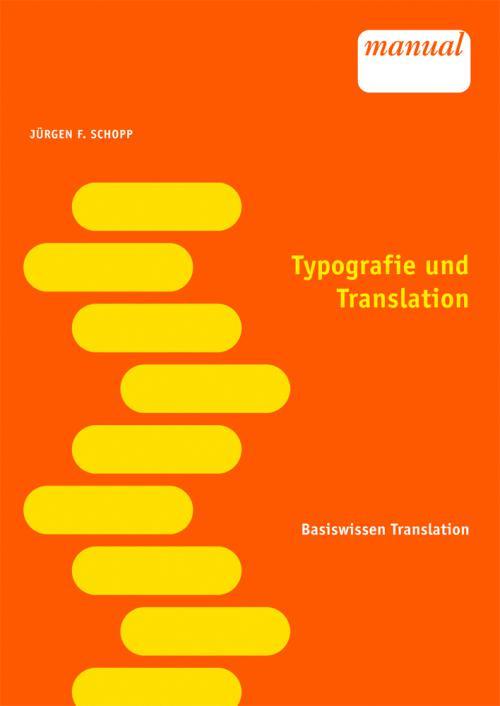 Typografie und Translation cover
