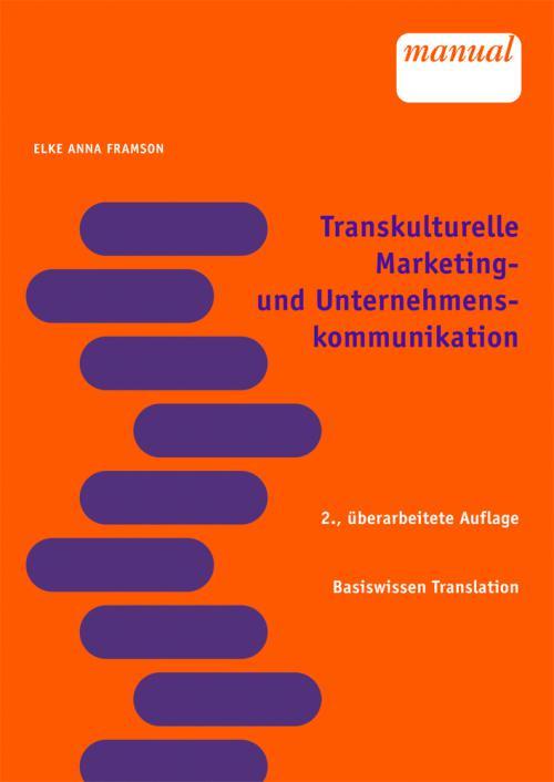 Transkulturelle Marketing- und Unternehmenskommunikation cover