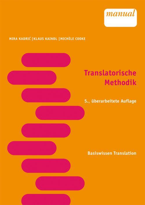Translatorische Methodik cover