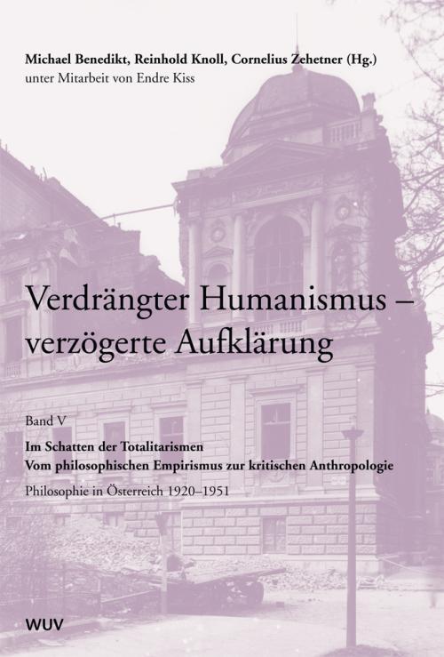 Verdrängter Humanismus - Verzögerte Aufklärung Band V cover