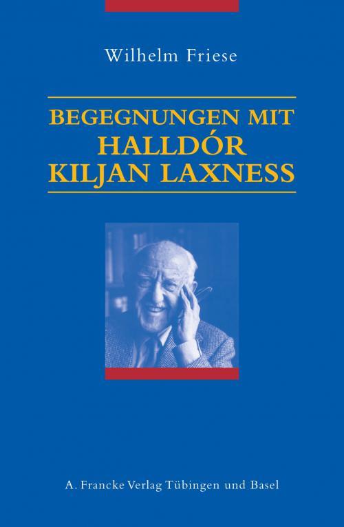 Begegnungen mit Halldór Kiljan Laxness cover