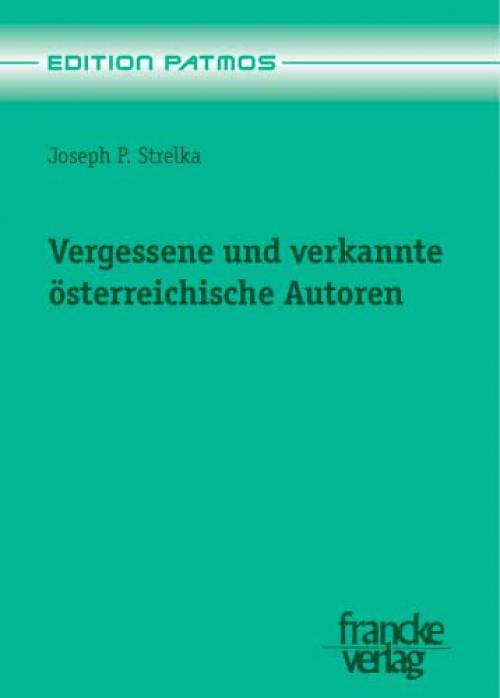 Vergessene und verkannte österreichische Autoren cover