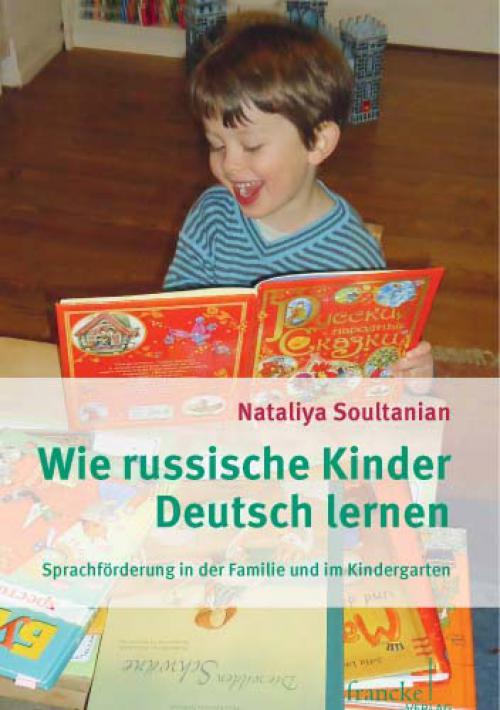 Wie russische Kinder Deutsch lernen cover
