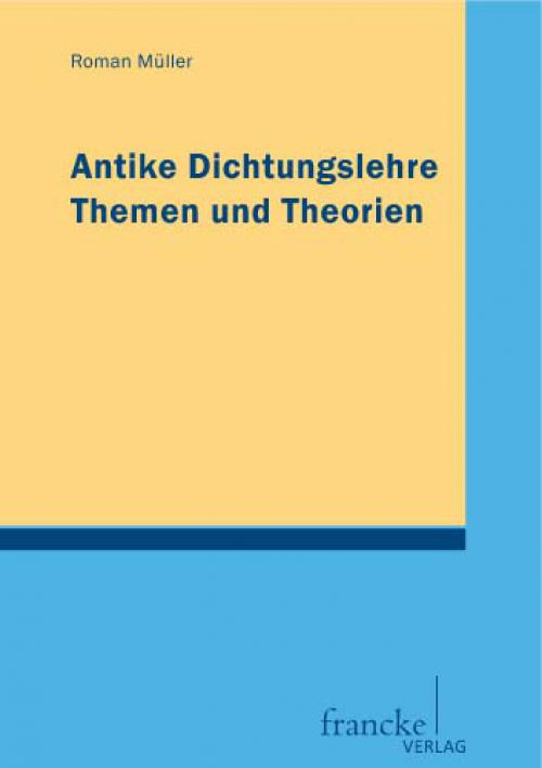 Antike Dichtungslehre cover