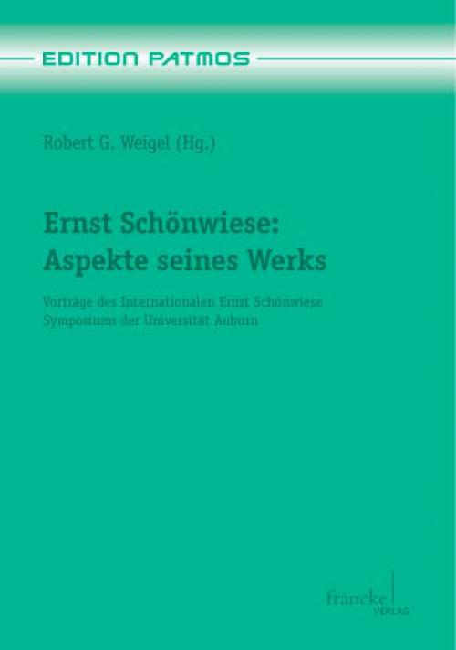 Ernst Schönwiese cover