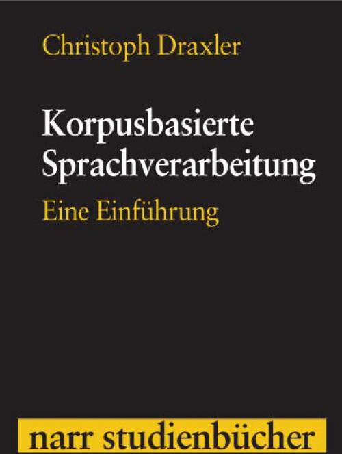 Korpusbasierte Sprachverarbeitung cover