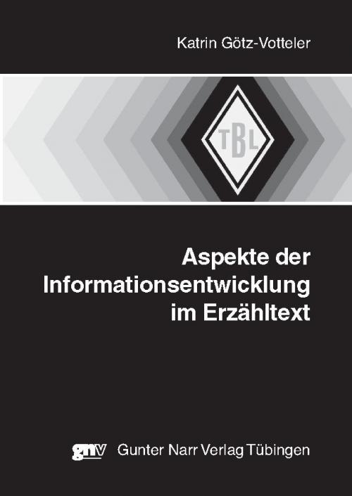 Aspekte der Informationsentwicklung im Erzähltext cover