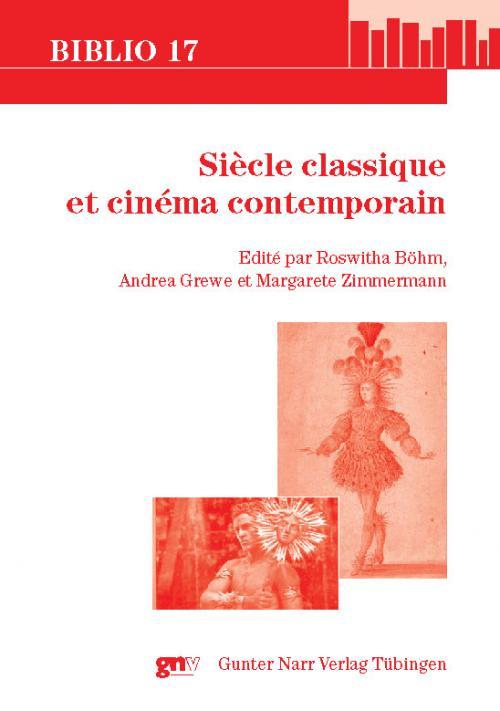 Siècle classique et cinéma contemporain cover