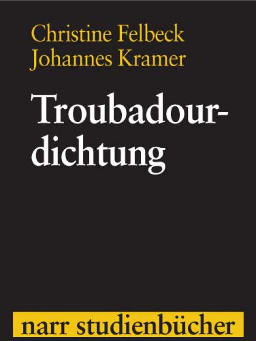 Troubadourdichtung cover