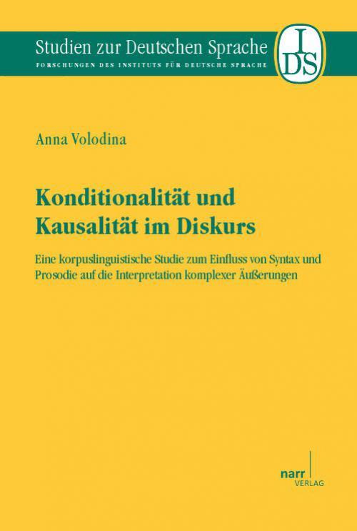 Konditionalität und Kausalität im Deutschen cover